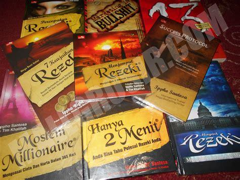 jual paket buku ippho right santosa isi 9 buku 100