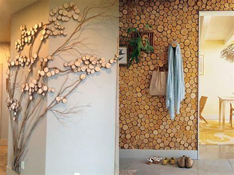 troncos decorados 15 ideas molonas y r 250 sticas de decoraci 243 n con troncos de