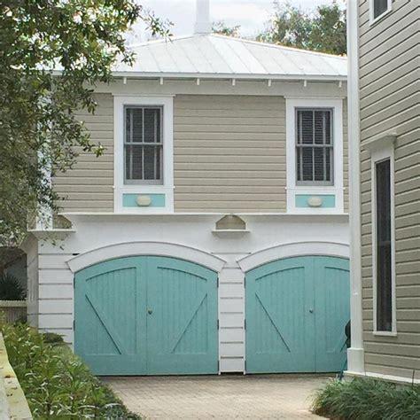 white house custom color turquoise garage doors garage inspiration
