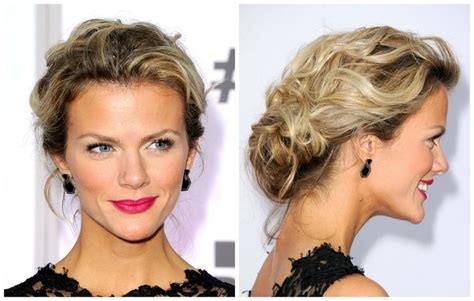 casual hairstyles with accessories messy updos the top casual prom hairstyles