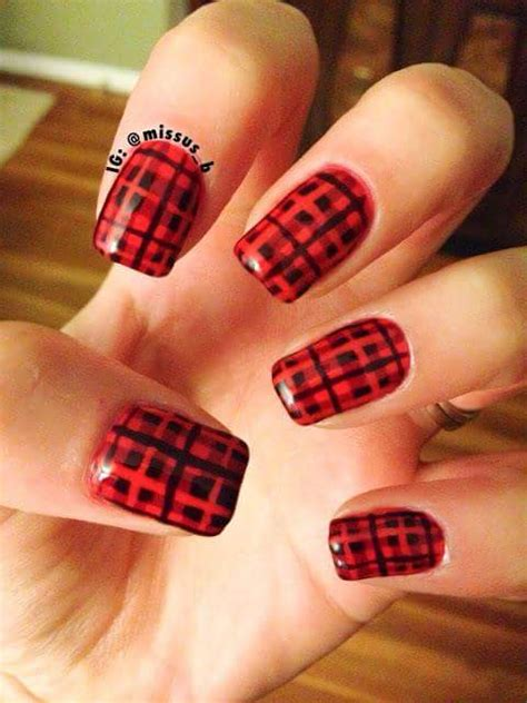 nail art checkered tutorial 80 inspiring holiday nail art ideas that are just wow