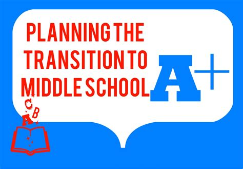 planning a transition to middle school event the middle