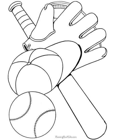 easy softball coloring pages easy picture colouring pages