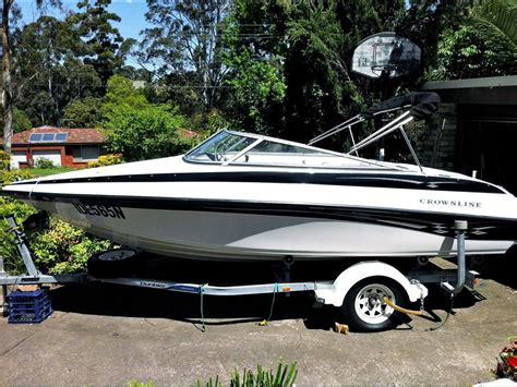 crownline boats nsw 2006 crownline 180 br for sale trade boats australia