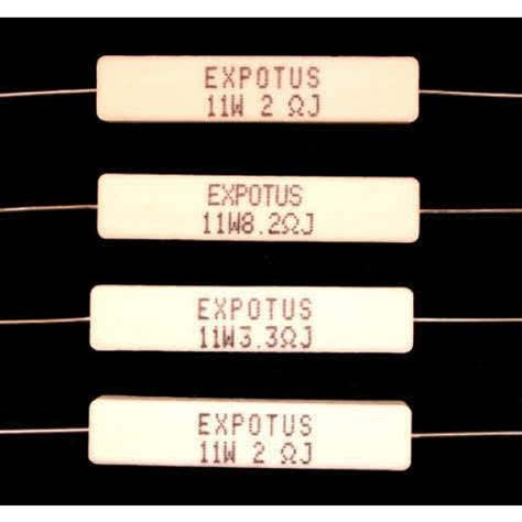 wire wound resistor diy ceramic wire wound resistors for loudspeaker crossovers and networks 10w and 11w watt from
