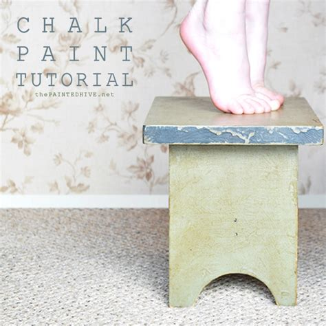chalk paint tutorial español the painted hive chalk paint tutorial distressed