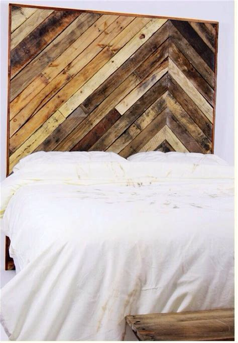 how to make a headboard out of wood and fabric 4 headboards made from wooden pallets pallet furniture plans