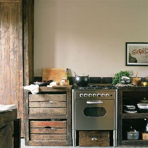 upcycled kitchen ideas dishfunctional designs vintage wood crates upcycled