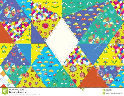 Muster Einladung Karte Lustige Karte Mit Dem Muster Eingestellt Und Rahmen F 252 R