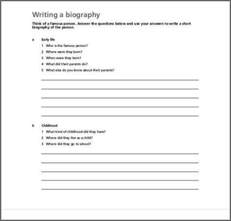 biography and structure make use of biography templates