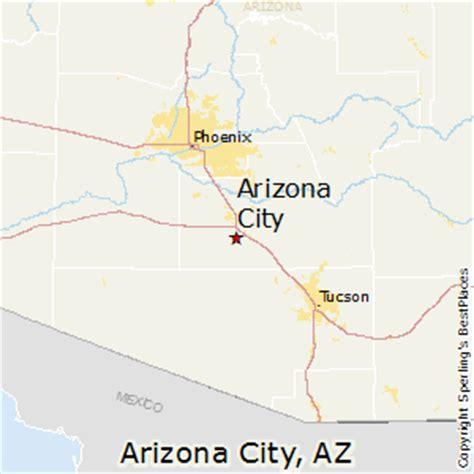 where is arizona on the arizona map best places to live in arizona city arizona