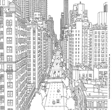coloring pages for adults buildings coloring books for grown ups 7 free pages to print