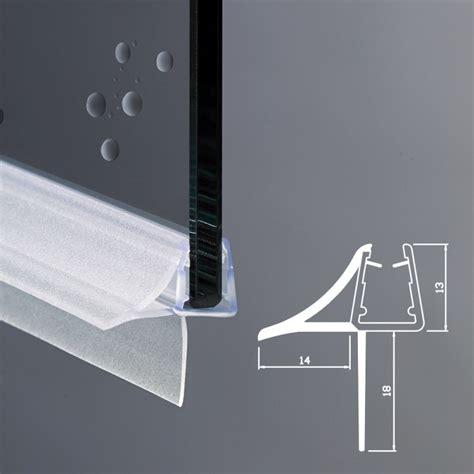 guarnizione vetro doccia guarnizione box doccia con gocciolatoio vetro 6mm 8mm ec