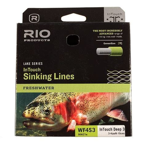 rio in touch sinking line rio intouch deep 3 full sinking fly line