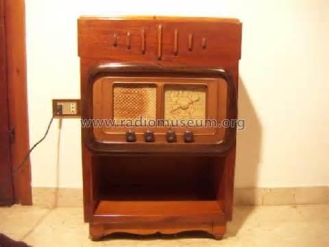 homebrew console console radio homebrew original italy build 1950 15