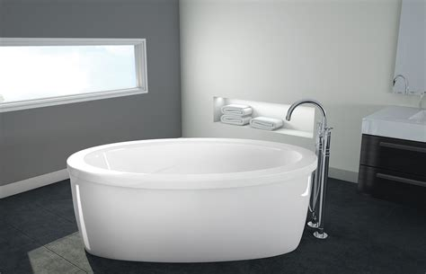 oceania bathtub oceania rose 60 quot x 35 quot x 21 quot freestanding soaking bathtub