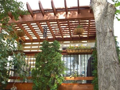 deck covers trellis colorado springs decks  schmillen