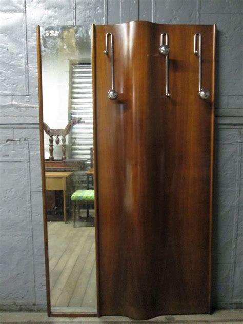 Wall Mounted Coat Rack With Mirror by Italian Wall Mounted Coat Rack With Mirror At 1stdibs