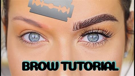 perfect eyebrow tutorial how to fix a microblading fail