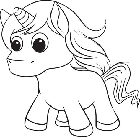 coloring pages of baby unicorns unicorn coloring pages to download and print for free