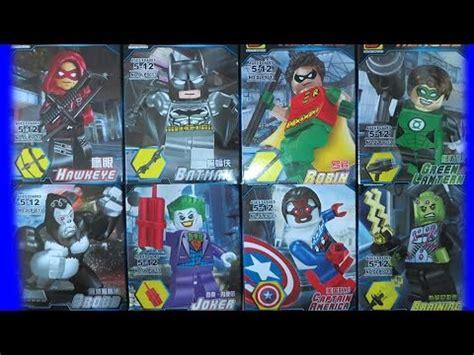 Joker Squad Dc Heroes Lego Bootleg Limited lego superheroes dc vs marvel lele bootleg 78000 review doovi