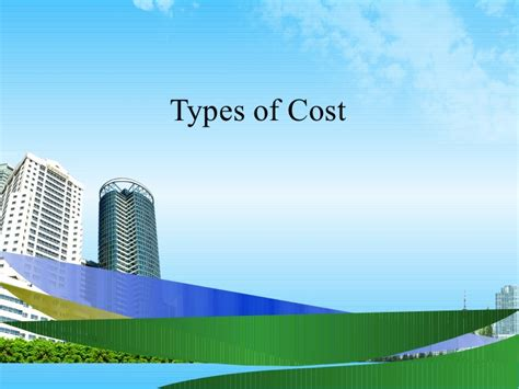 Kinds Of Mba by Types Of Cost Ppt Mba 2009
