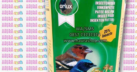 Pakan Burung Voer Hbk Sonca haura shop voer insect patee verselelaga rp 52 000