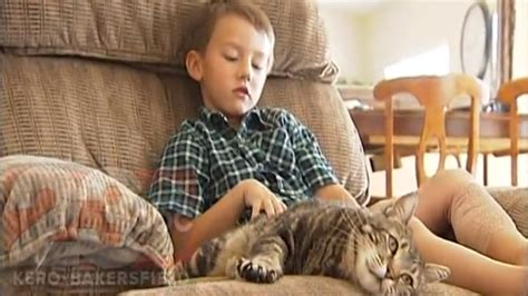 cat saves boy from cat that saved boy gives 187 magazine