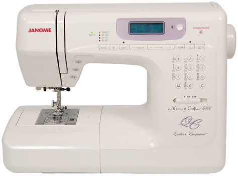 Sewing Machine For Embroidery And Quilting by Janome Mc4800qc Memory Craft Quilting Sewing Machine