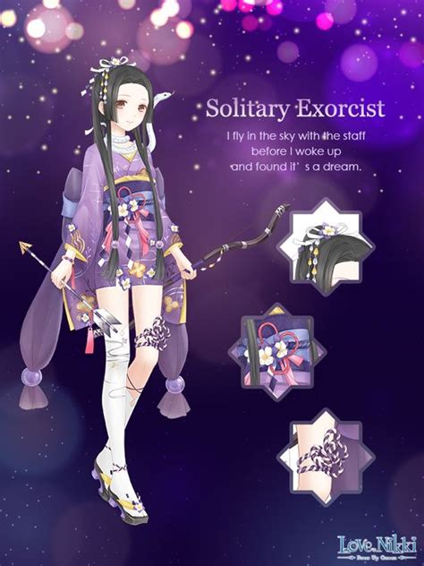 solitary exorcist love nikki dress  queen wiki