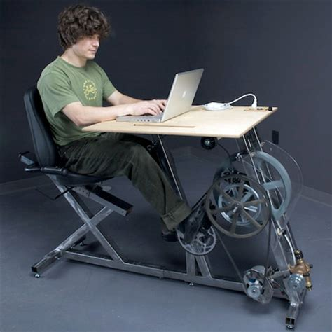Pedal Desk by Pedal Powered Workstation