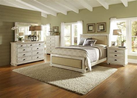 distressed white bedroom set white distressed bedroom furniture dream spaces pinterest