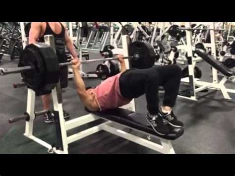 maxing out bench press 385 bench press max youtube