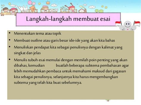 cara membuat puisi esai menulis esai bahsa indonesia sma