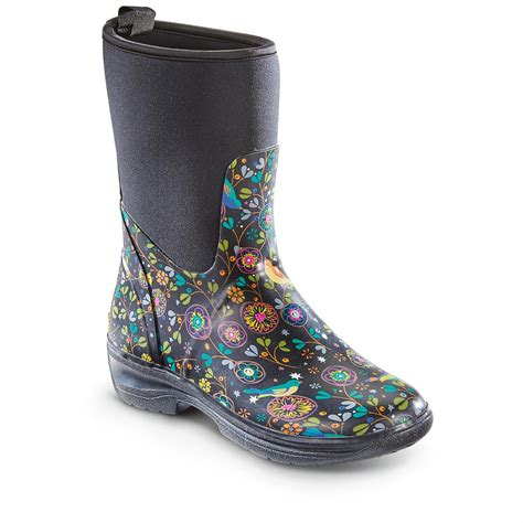 rubber boots womens western chief s neoprene rubber boots 648123