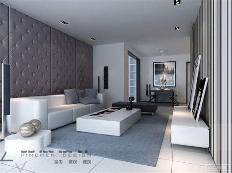 gray and living room interior design living room living room design ideas from pinchen design