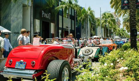 s day rodeo drive rodeo drive car show on s day glitterati tours