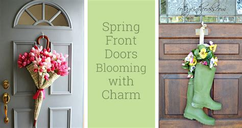 spring decorating ideas for your front door unique front porch decorating ideas to welcome spring
