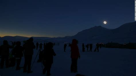 Landscape Photography During Total Solar Eclipse Europeans Look Up To Solar Eclipse Cnn
