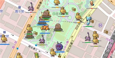 Go Search ポケモンgo 現在も使えるポケモン表示サイト P Go Search By