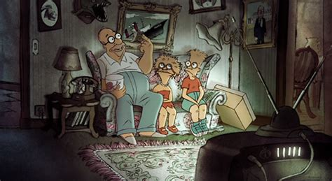 simpsons french couch gag triplets of belleville director creates simpsons couch gag