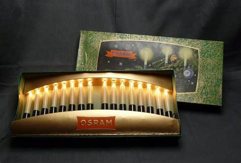 osram weihnachtsbeleuchtung innen sehr alte osram lichterkette 16 kerzen f innen