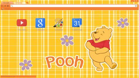 theme chrome pooh tema winnie the pooh google chrome y torch by