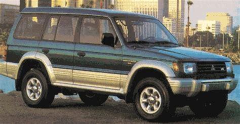 how to work on cars 1992 mitsubishi montero electronic toll collection mitsubishi montero repair manual 1992 1995 download download manu