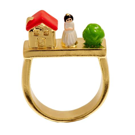 n2 les n 233 r 233 ides house snow white ring at jewellery4