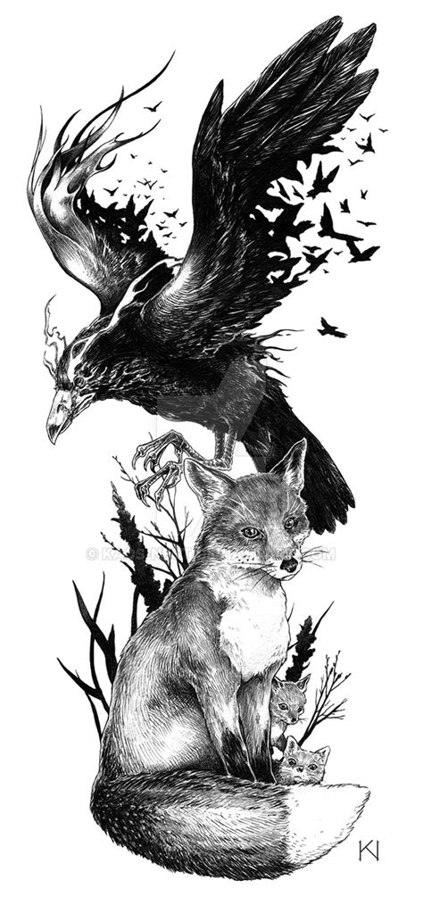 Fox Desain Kaos by And Fox Design By Kaos Nest On Deviantart