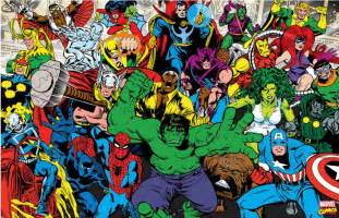 Wall Sticker Wholesale online buy wholesale marvel wallpaper from china marvel