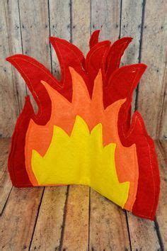 How To Make Tissue Paper Flames - diy felt cfire tutorial and pattern one for the boys