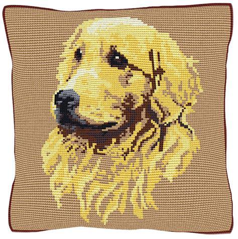 golden retriever cross stitch golden retriever chunky cross stitch kit