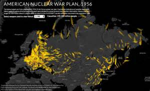 mapping the us nuclear war plan for 1956 restricted data